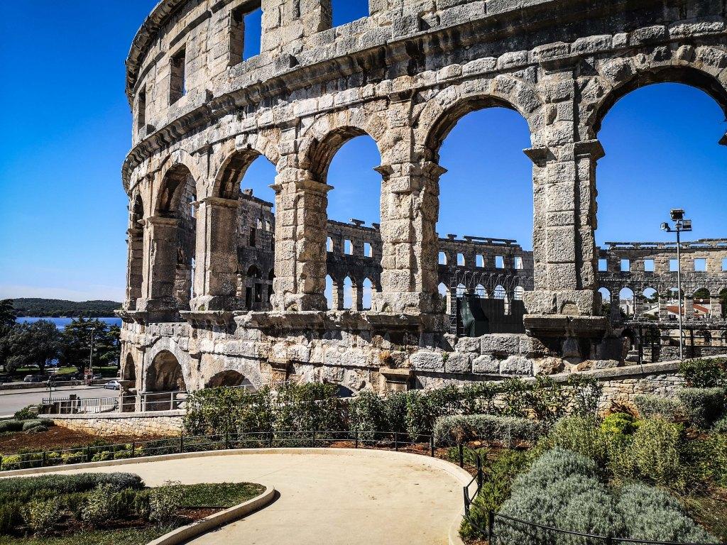 Koloseum w Pula. Chorwacja – czy warto tam jechać i co zobaczyć? Colsseum in Pula, Croatia, worth visiting, the best things to see