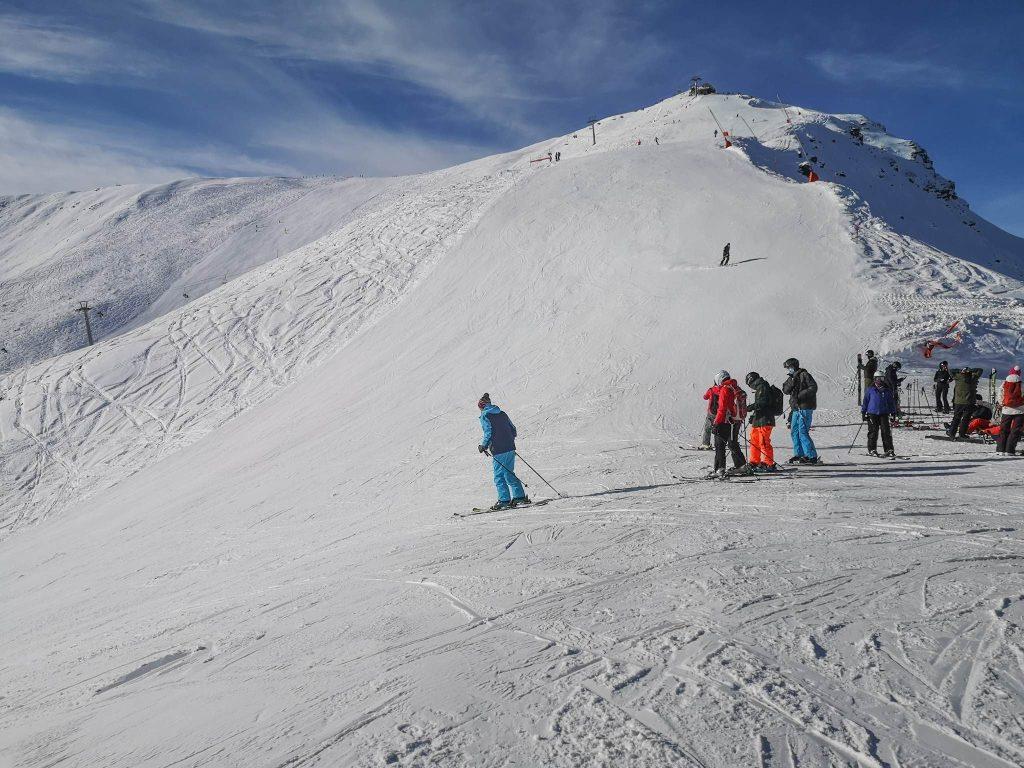 narty w Szwajcarii Skiing in Switzerland