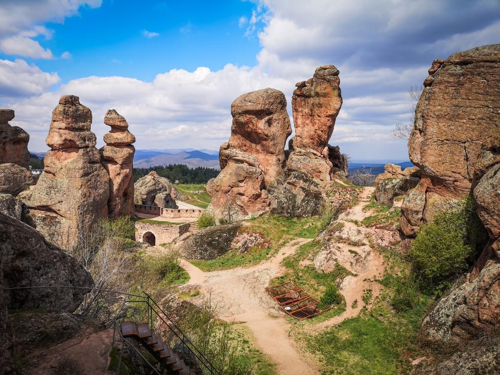 Bełogradczik (Belogradchik) twierdza Kaleto Bułgaria Pcham do Przodu