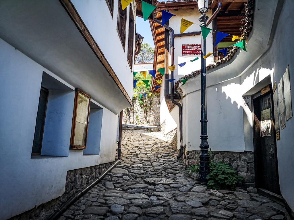 Craft Street, stare miasto Plovdiv. co zobaczyć w Bułgarii  atrakcje  Bułgaria  Pcham do Przodu