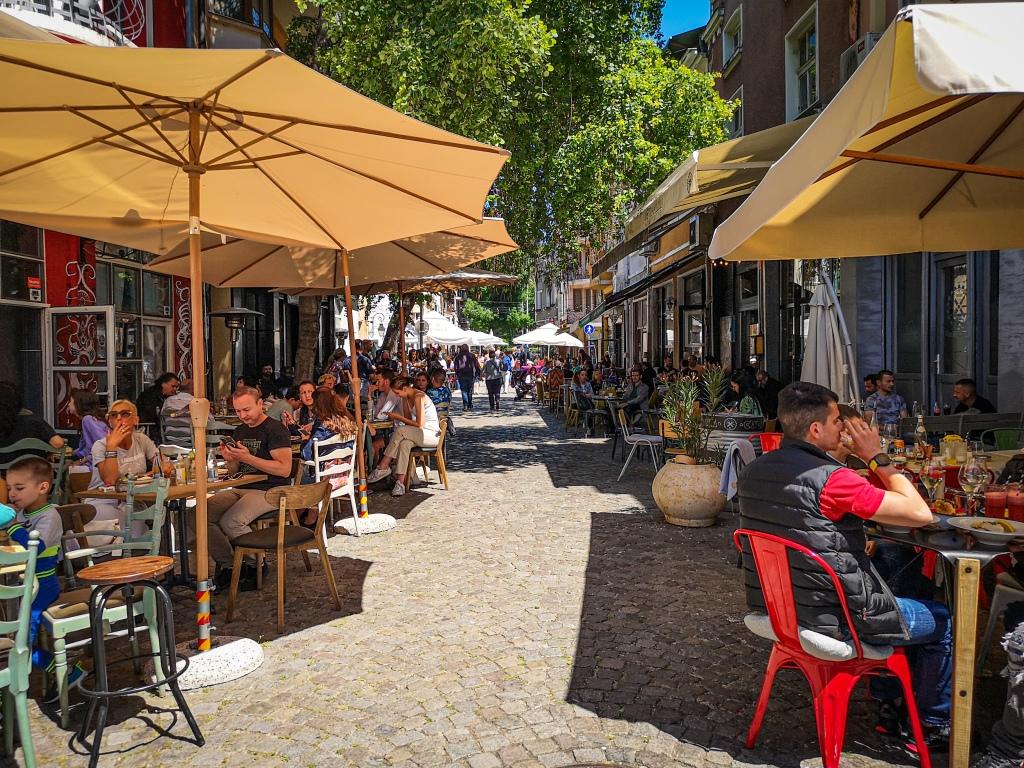 Plovdid dzielnica Kapana co zobaczyć w Bułgarii  atrakcje  Bułgaria  Pcham do Przodu  Płowdiw