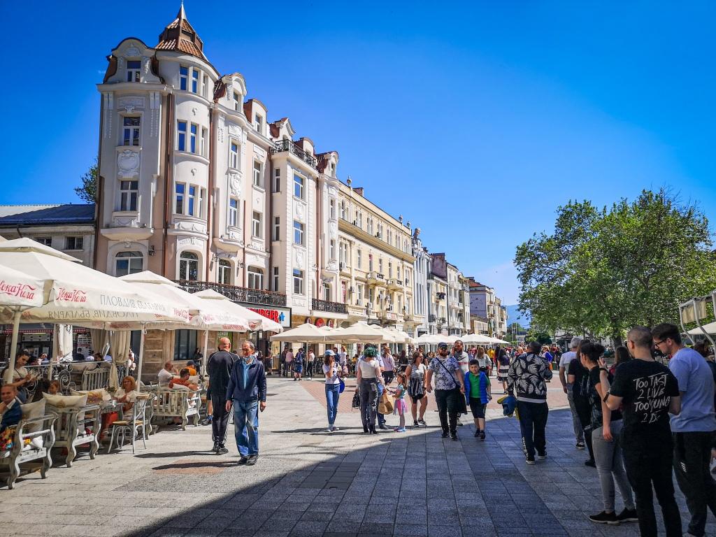 Plovdiv - Deptak Księcia Aleksandra I co zobaczyć w Bułgarii  atrakcje  Bułgaria  Pcham do Przodu  Płowdiw