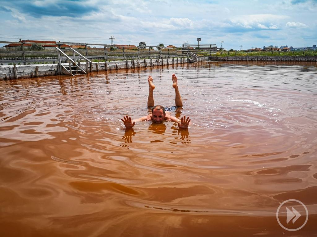 baseny solankowe w Burgas,  kąpiele lecznicze w Bułgarii  Pcham do Przodu