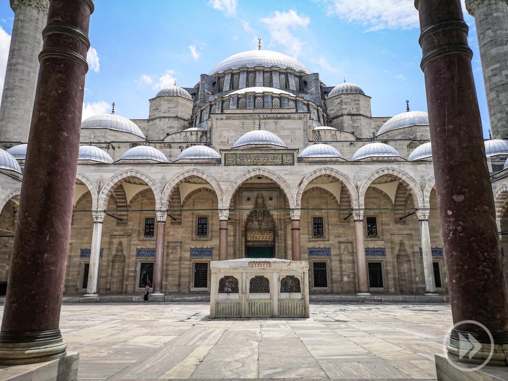 Turcja Stambuł Istanbul Turkey atrakcje co zobaczyć zwiedzać zwiedzanie  pcham do przodu co robić w Stambule  gdzie zaparkować   Meczet Sulejmana Wspaniałego